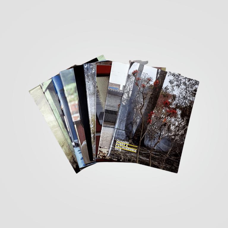 Catálogos de exposições de arte e fotografia realizadas pela Fundação Stickel